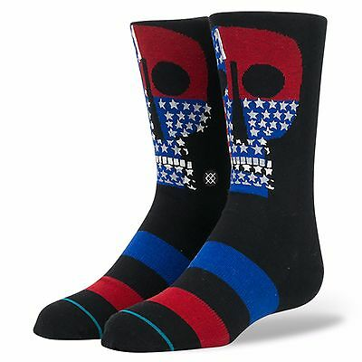 Stance Freedom Boy's Sock - Large - B515D16BLK-BLK
