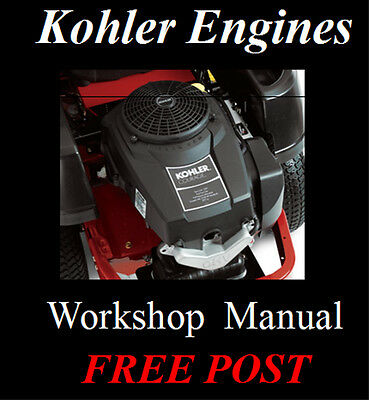 Kohler Engines Workshop Service Repair Manual On Cd - The Best !!