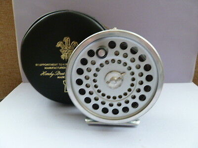 Hardy MARQUIS no #10 fishing reel with case.