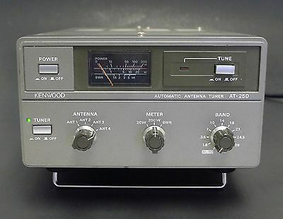 Kenwood AT-250 Automatic Antenna Tuner / HF Transceiver