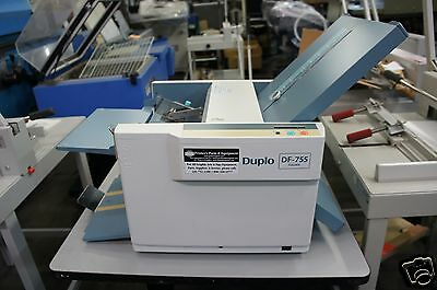 Duplo DF-755 Automatic Friction Feed Paper Folding Machine