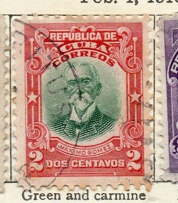 Spanish Caribbean 1910 Early Issue Fine Used 2c. 113688