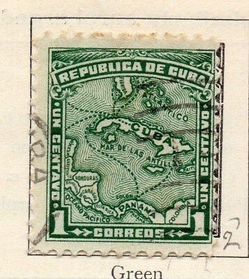 Spanish Caribbean 1914 Early Issue Fine Used 1c. 113698