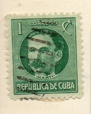 Spanish Caribbean 1917 Early Issue Fine Used 1c. 113707