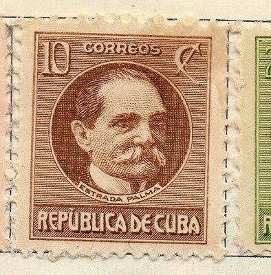 Spanish Caribbean 1917 Early Issue Fine Mint Hinged 10c. 113713
