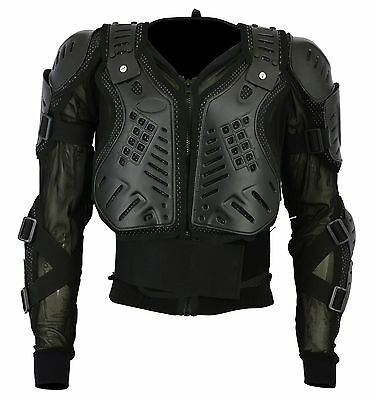 Adult Motorcycle Body Armour Spine Protector Motocross Motorbike Guard Jacket