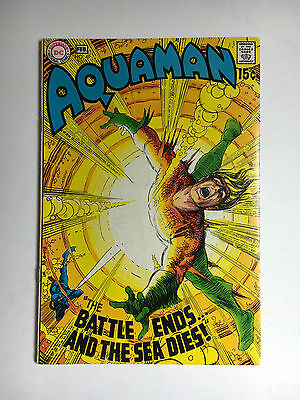 Aquaman #49 F/VF DC comic 1970 store stamp inside