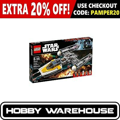 LEGO 75172 Star Wars Y-Wing Starfighter (BRAND NEW SEALED)