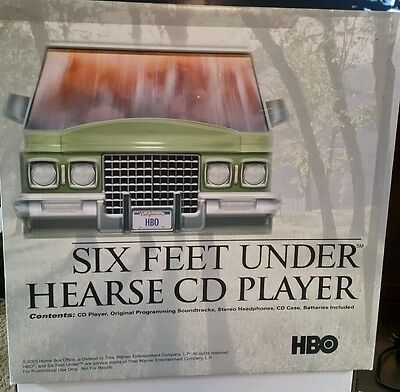 Six Feet Under Hearse CD Player HBO Promo Kit