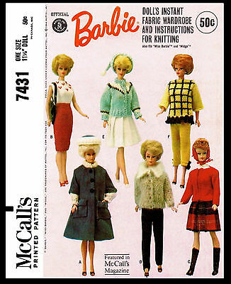 Barbie Ken Midge Allen Stacey Tammy by Mattel teen Doll Clothing PATTERN 6420