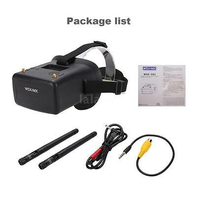 WSX-F01 5.8G 40CH Raceband FPV Goggles Video Glasses with Dual Antenna N8F9