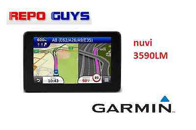 GARMIN NUVI 3590LM 5'' GPS : FAULTY FOR PARTS UNIT ONLY