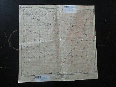 Hebron Area: Old  Topographical Map, 1:100000, Survey Of Palestine,1942. Vbok170