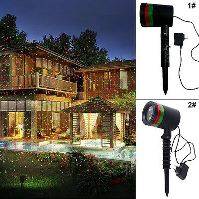 Fashion So Fantastic Star Light - Red & Green Shower Laser Lights Show Stunning