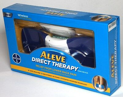 ALEVE Direct Therapy Tens Device Relief From Lower Back Pain + Wireless Remote