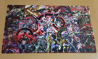 E4 FREE MAT BAG Glendios Reverse Cardfight Vanguard G Custom Playmat Rubber
