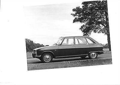 RENAULT 16 PRESS PHOTO ' Brochure Connected'