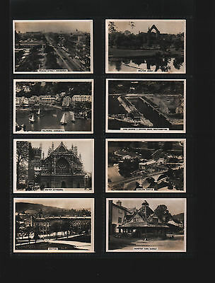 cigarette cards sights of britain 2nd series 1936 full set