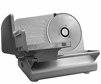 "Electric Meat Slice Commercial Food Cafe Restaurant Cutter Blade Steel 7.5"" Use"