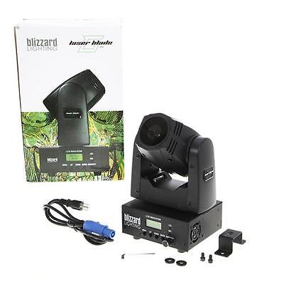 Blizzard Lighting Laser Blade G Mini Moving Head with 50mW Fat Beam Laser