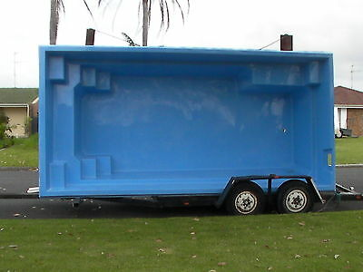 Fibreglass Swimming Pool 6.2m X 3.0m X 1.5m Deep