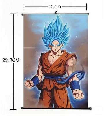 "Hot Japan Anime Dragon Ball Z Kakarot Goku Home Decor Poster Wall Scroll 8""x12""c"