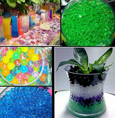 Home Decor Water Beads 1000 Particles Mud Pearl Water beads Grow Shaped Crystal