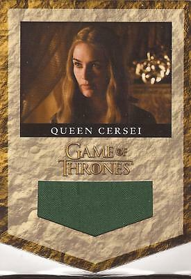 "Game of Thrones Season 2 - RB3 ""Cersei Baratheon Banner"" Relic Card #272/300"