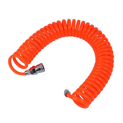 6M 19.7Ft 8mm x 5mm Flexible PU Recoil Hose Tube for Compressor Air Tool FK
