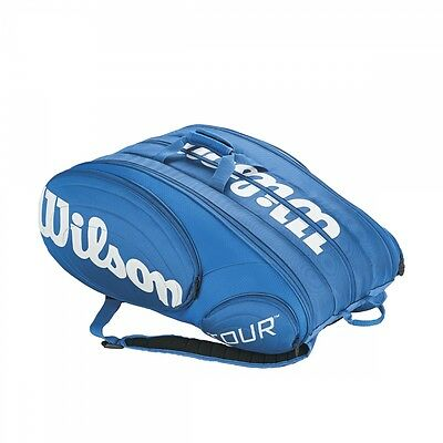 Wilson Tour 15 Pack blau Tennistasche Racket Bag NEU UVP 119,95€