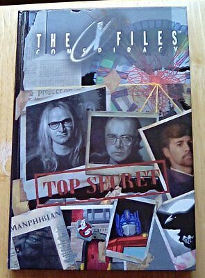 IDW ~ The X-Files Conspiracy Hardcover Book - The Lone Gunmen --- NEW
