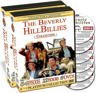 The Beverly HillBillies Collection - 54 Episodes on 6 DVDs - New!