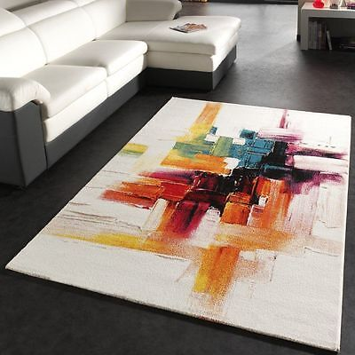 New Modern Rug Patterned Soft Quality Rugs Small Extra Large Carpets Colourful