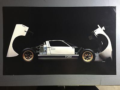 1963 Ford GT-40 Coupe Print, Picture, Poster RARE!! Awesome L@@K