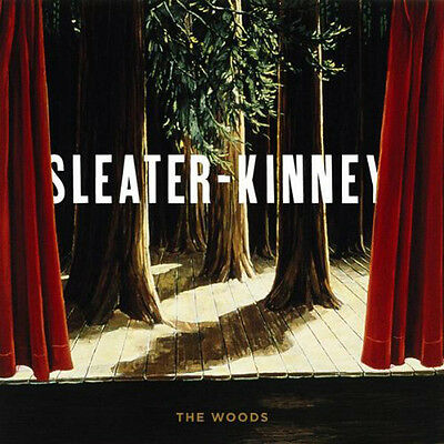 Sleater To Kinney The Woods Lp Vinyl 33Rpm New Remastered