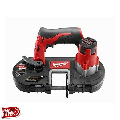 SALE Milwaukee 2429-20 M12 12-Volt Lithium-Ion Cordless Sub-Compact Band Saw