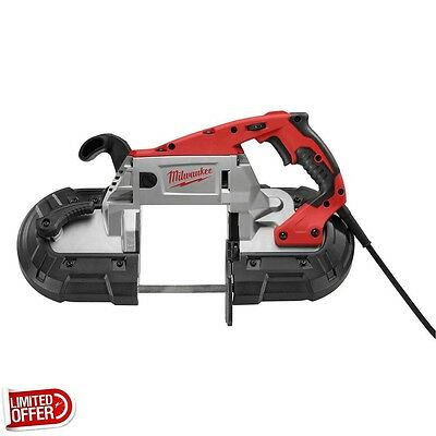 SALE Milwaukee 6232-21 Deep Cut Band Saw AC w/ Case Portable