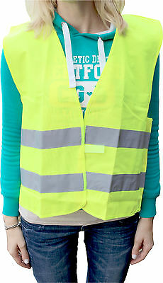 High visibility vest universal size colour: yellow High Visibility Vest
