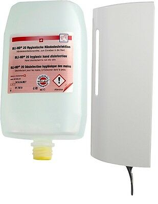 650 ml BLI-HD20 Hygienic Hand disinfection with Soap dispenser b-wash S-650