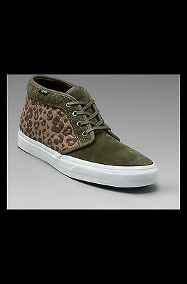 c5e5681684d7d5 Vans Men Chukka Boot Ca Leopard Camo (olive   grape leaf) VN0IK48OF Size 11