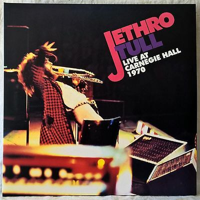 JETHRO TULL LIVE AT CARNEGIE HALL 1970 2LP 180g RECORD STORE DAY RSD