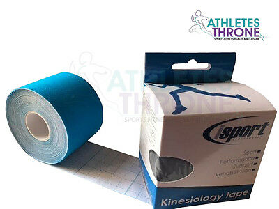 Isport Kinesiology Support Injury Sports Gym Rehab Physio Muscle Strain Tape 5M