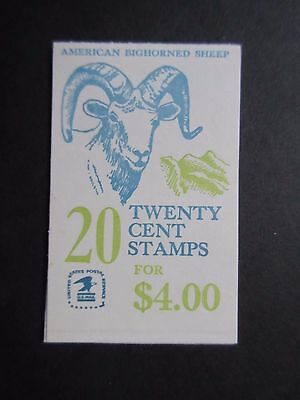 USA 1982 $4 American Bighorned Sheep Booklet.MNH