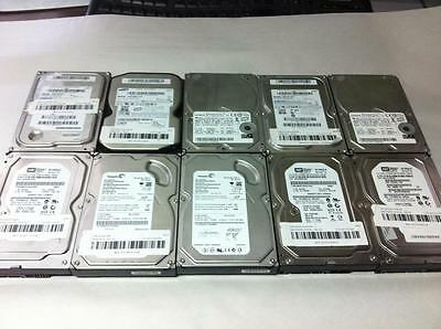 "Lot 10 X Major Brand 160Gb Sata 3.5"" Desktop Hard Drive 7200 Rpm (No Bad Sector)"