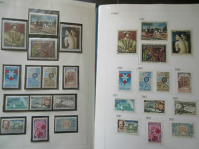 France Collection 1967-71 MNH & Used.