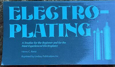 Vintage 1911 Electroplating Copper Plating Silver Gold Illustrations Reprint
