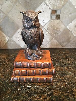 Theodore Alexander The Wise Old Owl 1000-027 Verdigris Brass Accessory