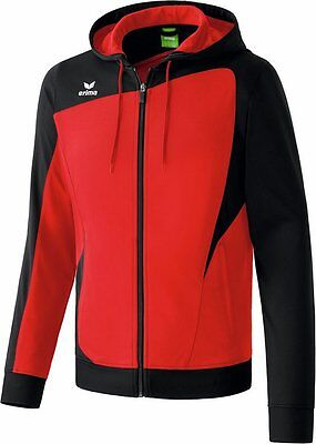 Erima Club 1900 Trainingjacket, Kinder, Gr. 3/164, Rot/Schwarz, Neu,UVP 39,95