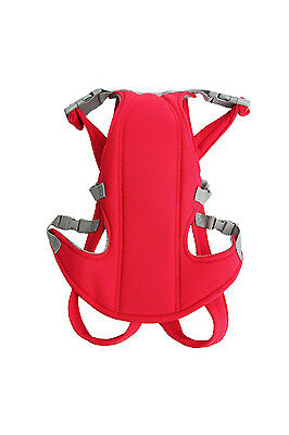 Adjustable Infant Baby Carrier Newborn Kid Sling Wrap Rider Backpack Red FK