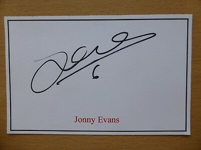 Hand Signed Football Index Cards *****E***** Page 2